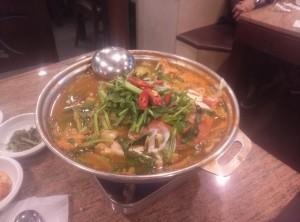 カニ海鮮鍋